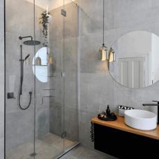 ronde badkamerspiegel